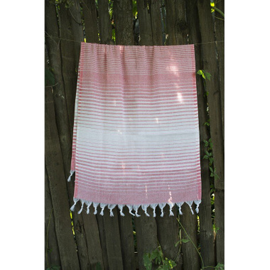 Полотенце Lotus Pestemal Light-pink 05 Micro stripe, 75x150