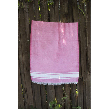 Полотенце Lotus Pestemal Pink 01 Simple stripe, 75x150