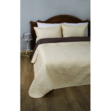 Покрывало Lotus Broadway Basic Irish Cream, 150х220